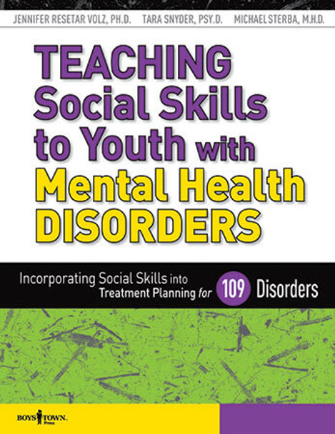 Book cover of  Teaching Social Skills to Youth with Mental Health Disorders