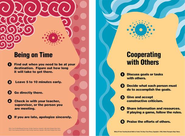 Interpersonal Social Skills Poster Set