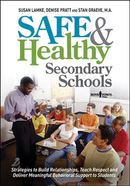 Book cover of  Safe and Healthy Secondary Schools