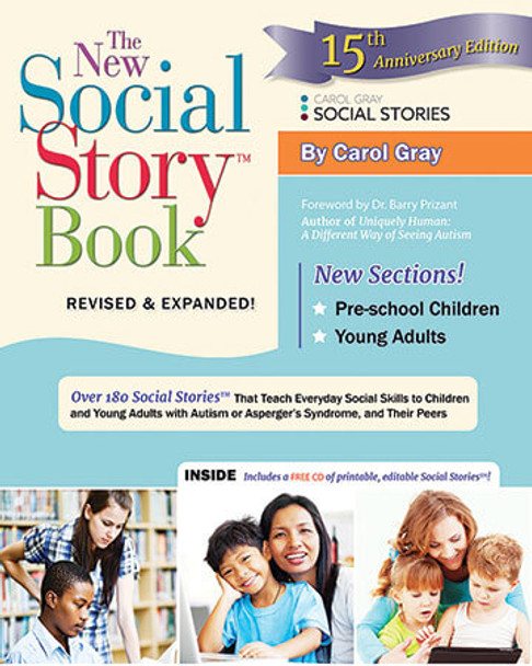 Book cover of  The New Social Story Book