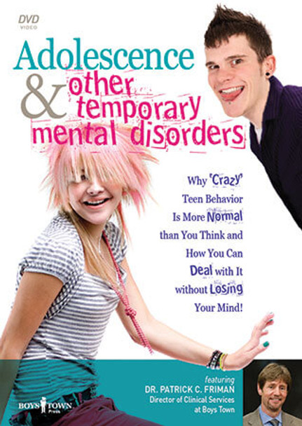 Cover of Adolescence and Other Temporary Mental Disorders DVD