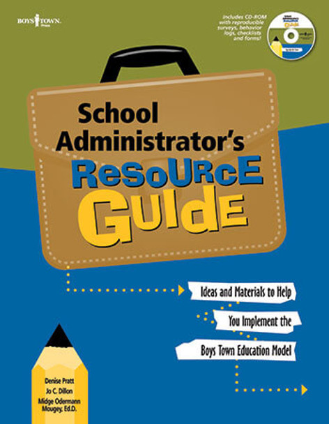 Book cover of  School Administrator's Resource Guide with CD