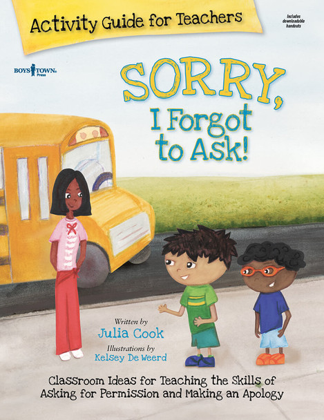Book Cover of Sorry, I Forgot to Ask! Activity Guide