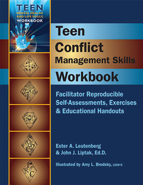 Book cover of  Teen Conflict Management Skills Workbook