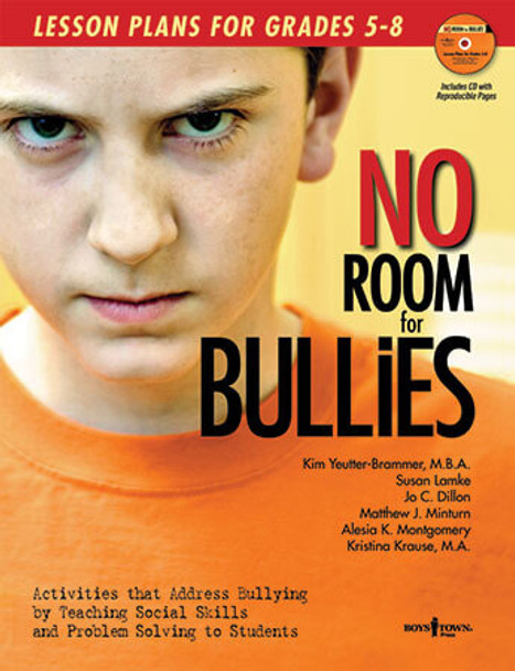 Book cover of  No Room for Bullies: Lesson Plans for Grades 5 - 9