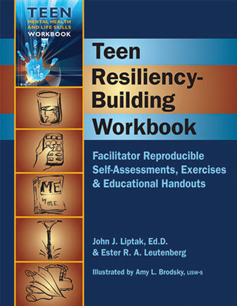 Book cover of  Teen Resiliency-Building Workbook