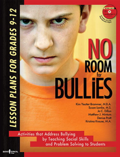 Book cover of  No Room for Bullies: Lesson Plans for Grade 9 - 13