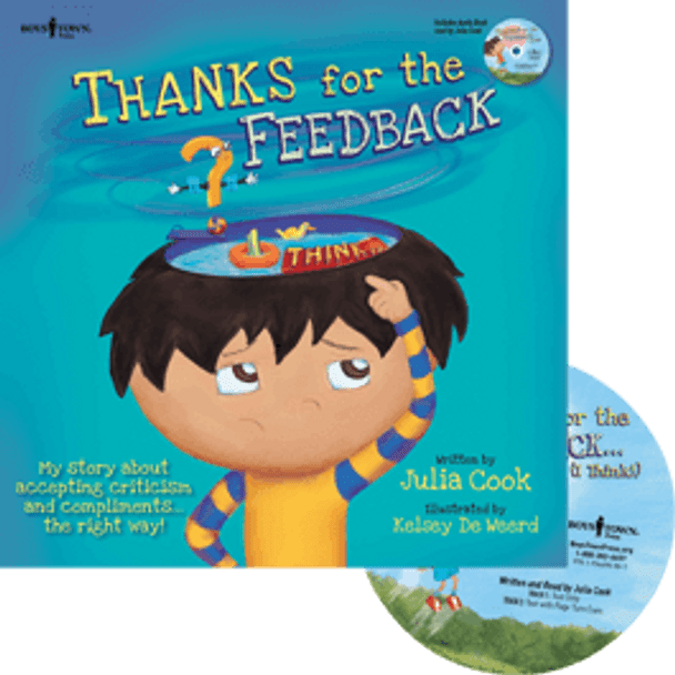 Book Cover of Thanks for the Feedback... (I Think!) Book with Audio CD