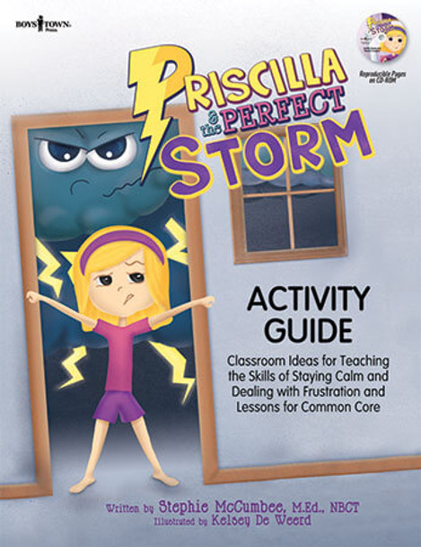 Book cover of  Priscilla & the Perfect Storm Activity Guide