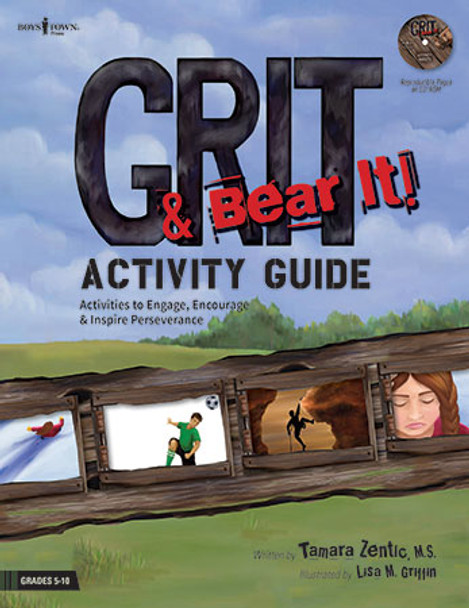 Book cover of  Grit & Bear It! Activity Guide