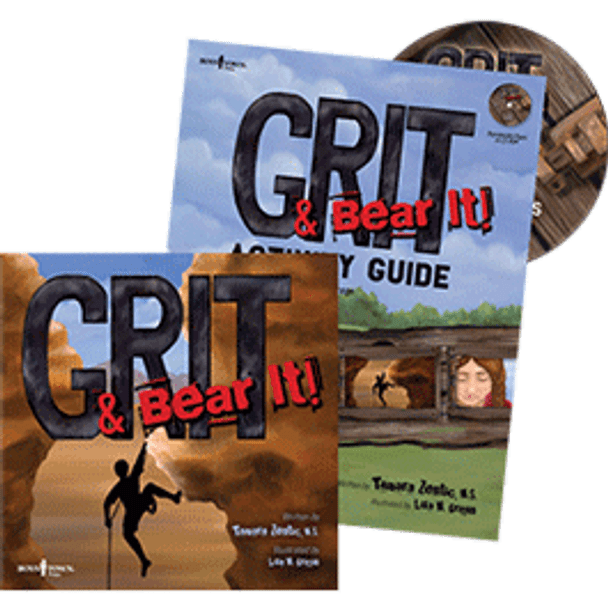 Book Covers of Grit & Bear It Storybook and Activity Guide
