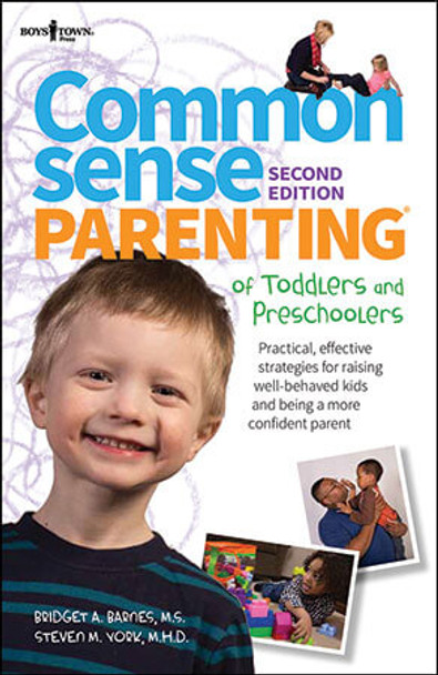 Book Cover of Common Sense Parenting of Toddlers and Preschoolers, 2nd Edition