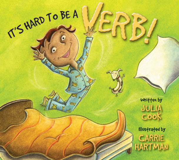 Book cover of  It's Hard to Be A Verb