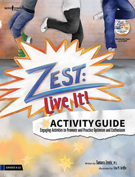 Book cover of  Zest: Live It! Activity Guide
