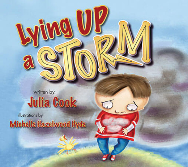 Book cover of  Lying Up a Storm