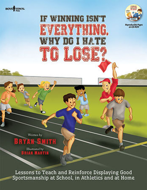 Book cover of  If Winning Isn't Everything, Why Do I Hate to Lose? Activity Guide for teachers