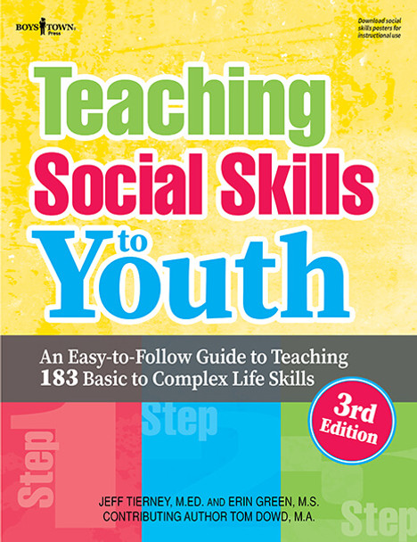 Book cover of  Teaching Social Skills to Youth, 3rd Edition