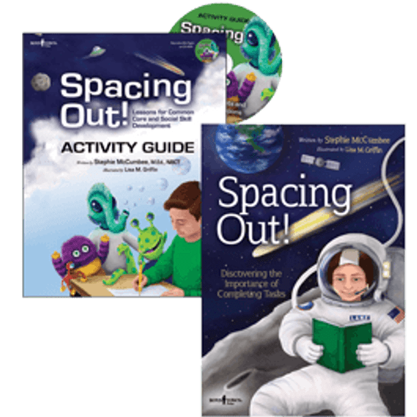 Book Covers of Spacing Out! Storybook and Activity Guide