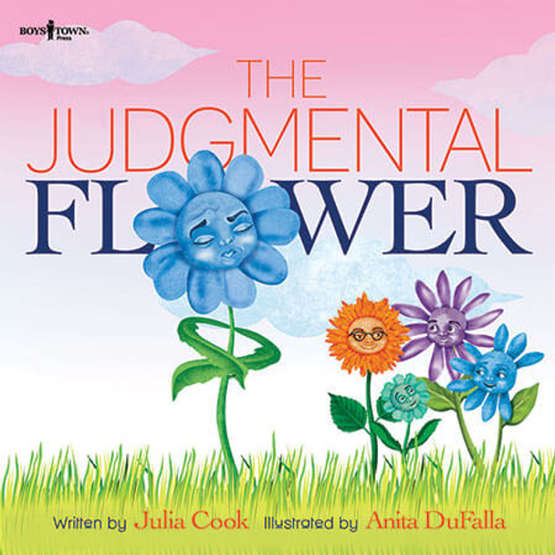 Book cover of  The Judgmental Flower