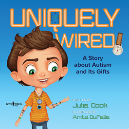 Book Cover Uniquely Wired by Julia Cook