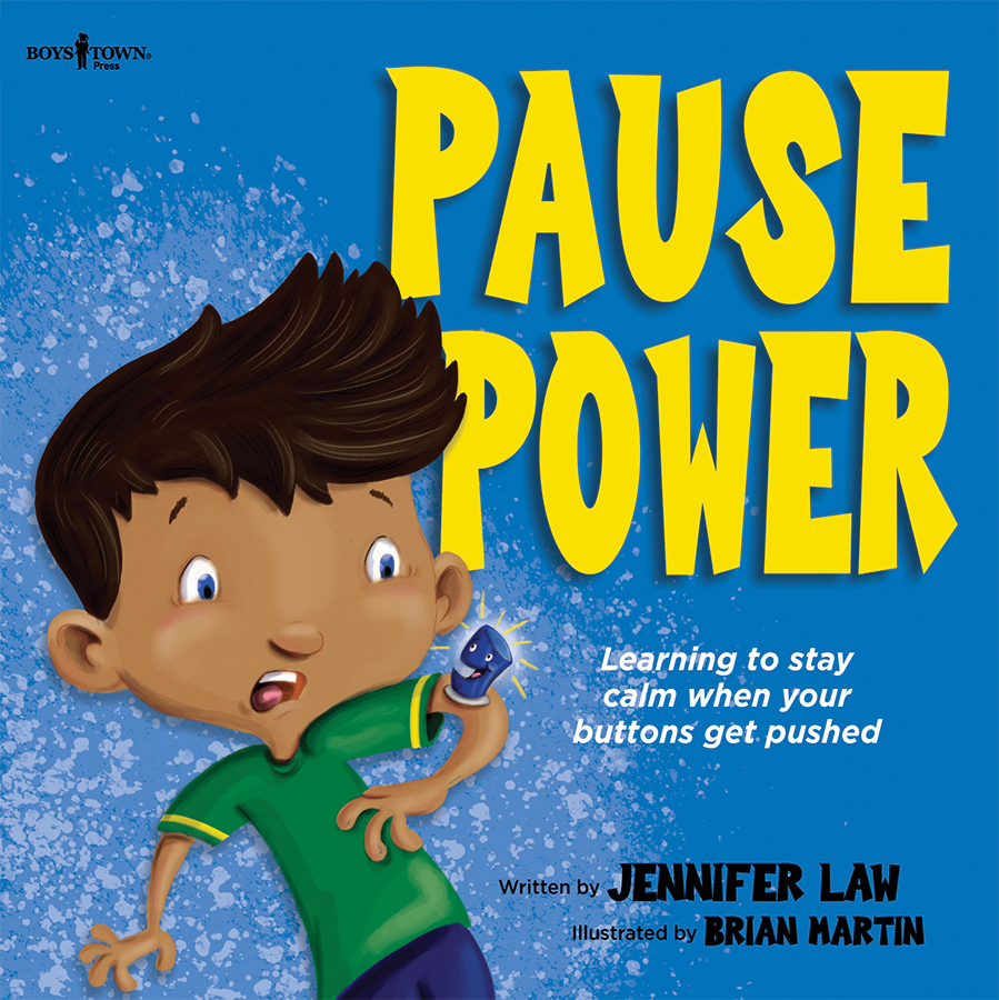 image of pause power book cover