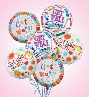 Air - Rangement Get Well Balloons