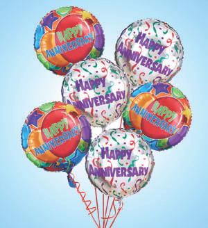 Air - Rangement Happy Anniversary Balloons