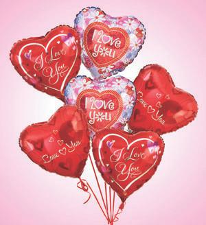 Air - Rangement Love & Romance Balloons