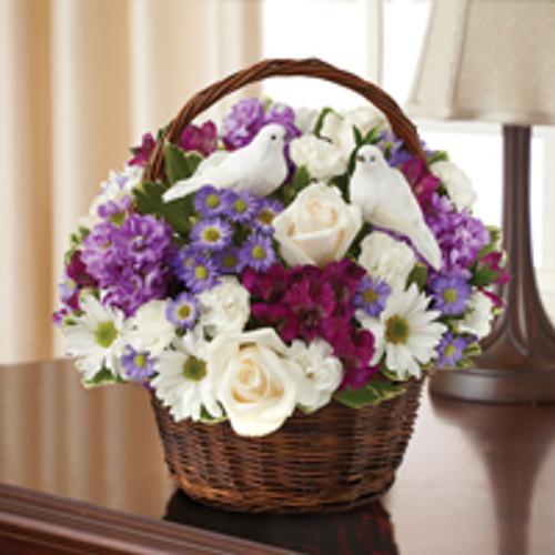 Lavender & White Peace, Prayers & Blessings