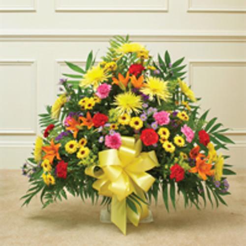 Multicolor Bright Sympathy Floor Basket