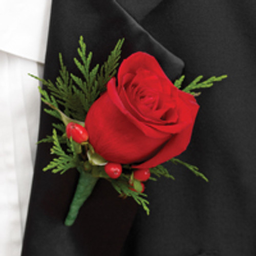 Holiday Boutonniere