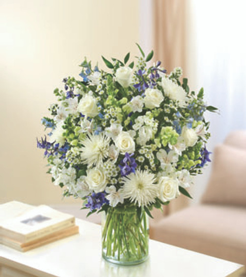 Ultimate Elegance Blue And White