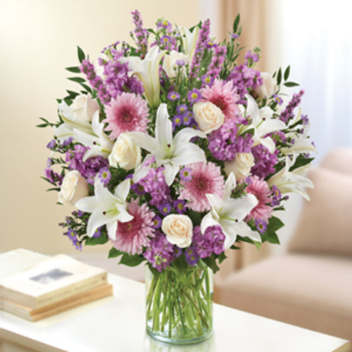 Lavender and White Ultimate Elegance