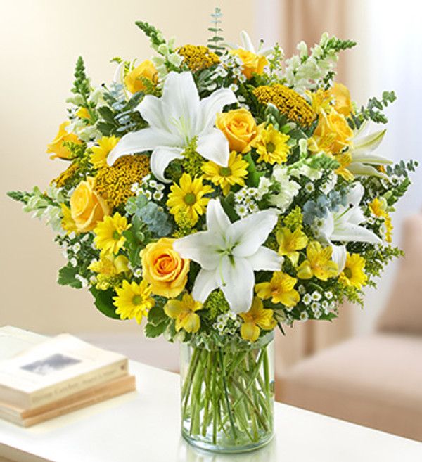 Yellow and White Ultimate Elegance