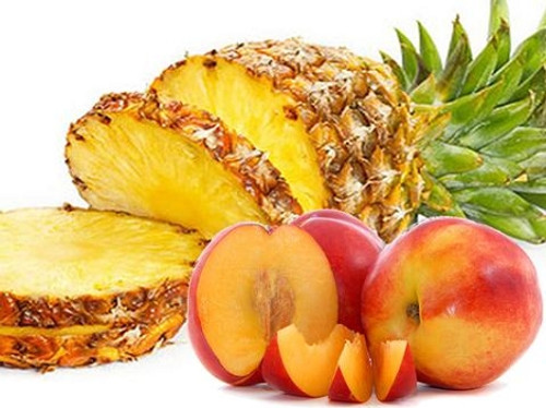 Pineapple Peach Eliquid | Wholesale | Vape Junkie Ejuice - These two fruits are blended to perfection. A must try vape!