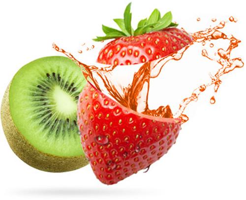 Strawberry Kiwi Eliquid | Wholesale | Vape Junkie Ejuice - Delicious blend of succulent Strawberries and sweet Kiwi. Definitely a fan Favorite.