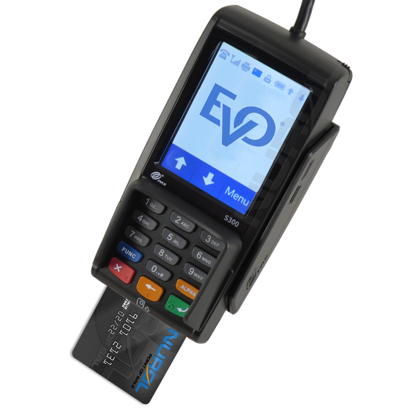 PAX S300 Aldelo EMV Credit Card Processing with EVO Payments