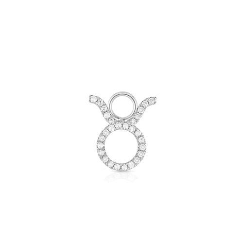 Diamond Zodiac Earring Charm