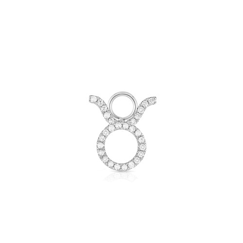 Diamond Zodiac Earring Charm
