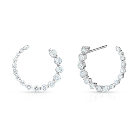 Subtle to Luxe: Meet Our Best-Selling Graduated Diamond Single Prong Jewelry
