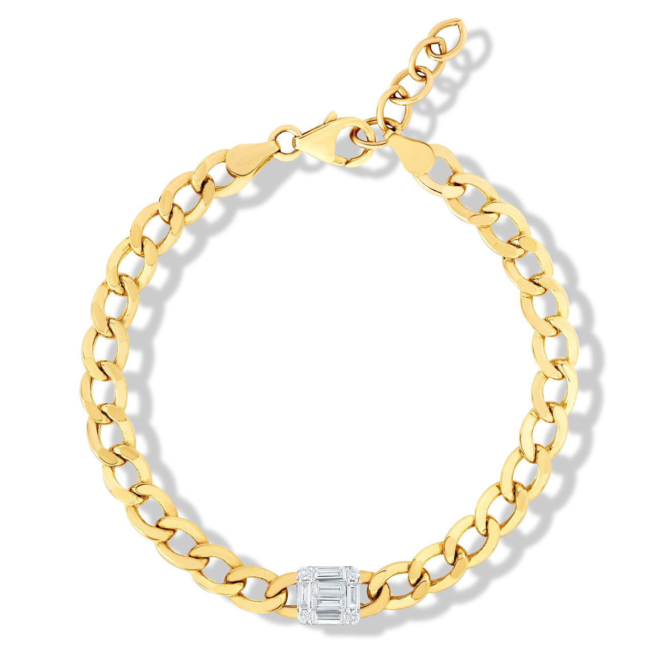 Go Bold! The TriBeca Collection Combines Oversized Gold Chain Jewelry With Sparkling Diamonds