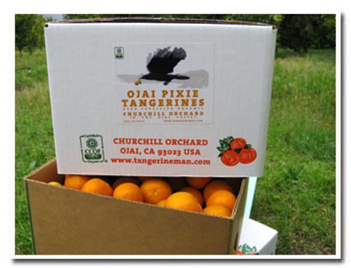 Certified organic Ojai Pixies in the money-saving 25-lb carton size.
