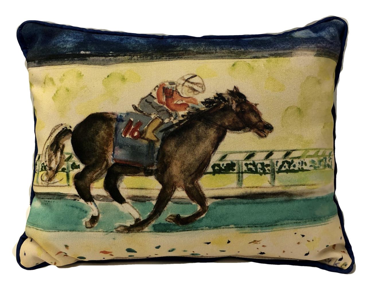 Derby Winner Pillow Large