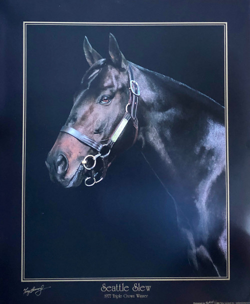 Seattle Slew 20x24