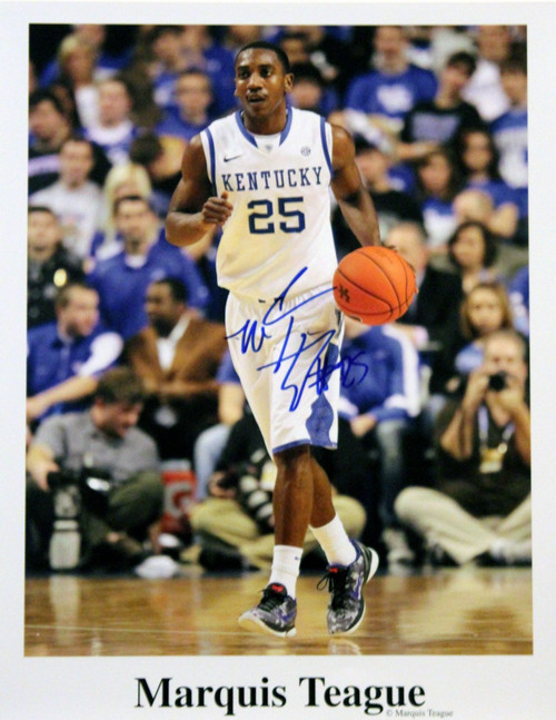 Marquis Teague handsigned by Marquis Teague