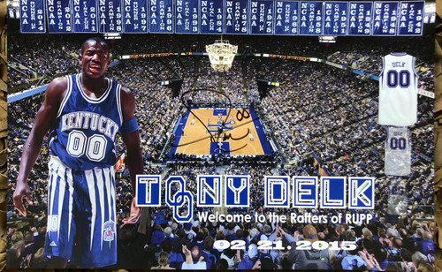 "Delk ""Welcome to the Rafters"""