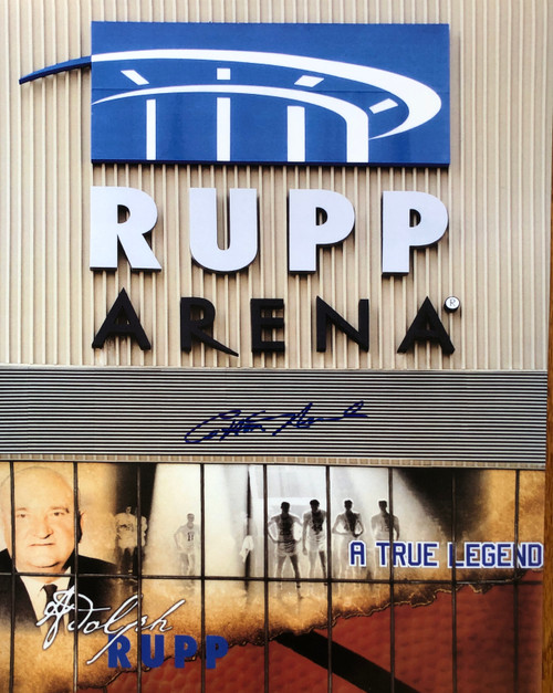 Rupp Arena signed by COTTON NASH