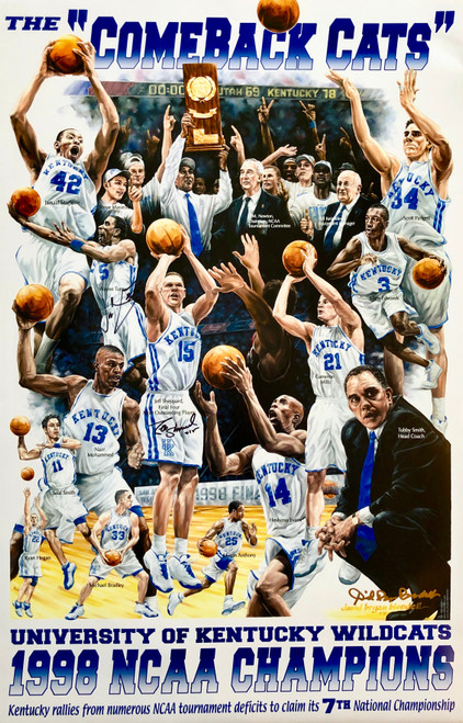 "Print size 18""W x 28""H signed by Jeff Sheppard and Wayne Turner with Certificate of Authenticity"