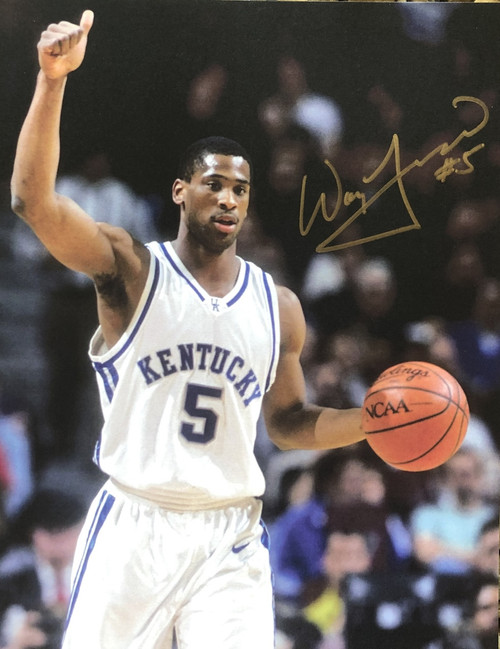 Wayne Turner signed 8x10