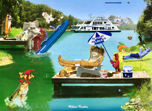 Wildcat Vacation Print